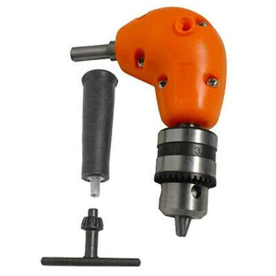 Sponsored Ebay 1x Right Angle Drill Chuck Adapter Attachment Electric Power Cordless 90 Angle Angle Drill Drill Cordless Impact Drill