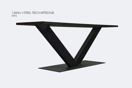 Tischgestell Stahl Und Edelstahl Tischgestelle Auf Mass