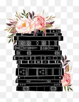 Black Books Decoration, Books, Book, Books Decoration PNG ...