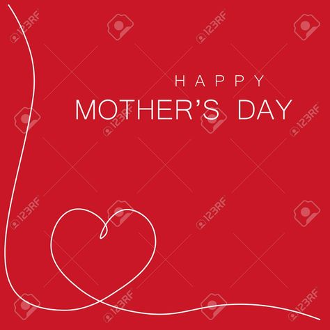 Happy mothers day greeting card with love, vector-illustration , #SPONSORED, #day, #greeting, #Happy, #mothers, #vector