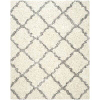 Andover Mills Ines Ivory Gray Area Rug Rug Size Rectangle 5 1 X 7 6 Area Rugs Grey Area Rug Rugs