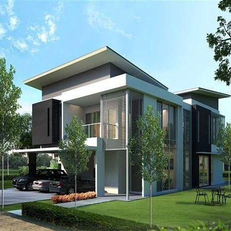 509 Likes 1 Comments Home Facade House Exterior Designs On Instagram House Exte Kerala House Design Philippines House Design House Renovation Design