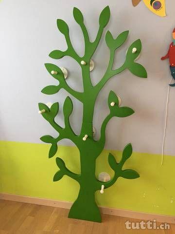 Garderoben Baum Fur Kinderzimmer Oder Flur Aargau Tutti Ch Kinder Zimmer Garderobe Baum Kinderzimmer
