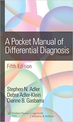 Pocket Manual Of Differential Diagnosis 5th Ed Pdf Free Download File Size 1 1 Mb File Type Pdf Description Medizinstudium Medizin Und Studium