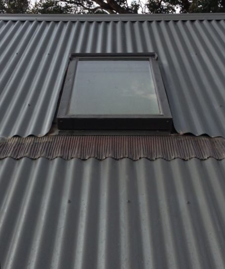 Velux Skylights Melbourne With Images Skylight Installation Corrugated Metal Roof Metal Roof Installation
