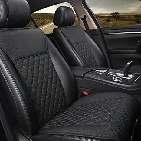 Black Panther 1 Pair Car Seat Covers Luxury Car Seat Protectors Universal Anti Slip Driver Seat In 2020 Leather Car Seat Covers Best Car Seat Covers Leather Car Seats