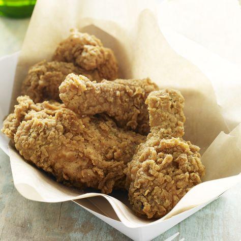 Chef John Currence's Buttermilk & Hot Sauce Fried Chicken. Deep Fried Heaven.