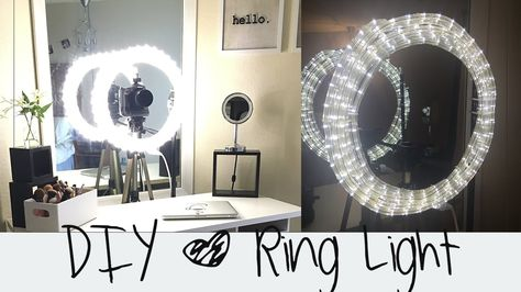 DIY Ring Light Tutorial  || Diva Light || Do it yourself