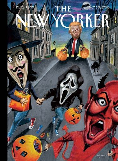 New Yorker Cover Halloween 2020 The New Yorker September 7, 2020 | New yorker covers, The new