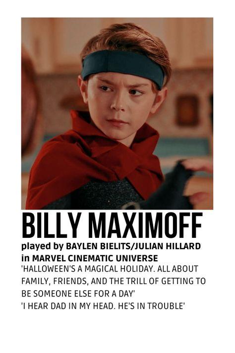 billy maximoff