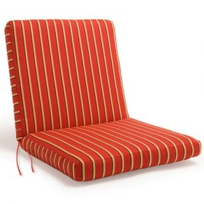Brilliant Caluco Sunbrella Boxed Dining Chair Cushions Is Made In Gmtry Best Dining Table And Chair Ideas Images Gmtryco