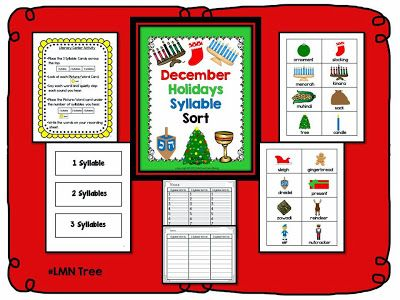 Kwanzaa, Christmas, and Hanukkah Literacy Activity - pinned by @PediaStaff – Please Visit ht.ly/63sNtfor all our pediatric therapy pins