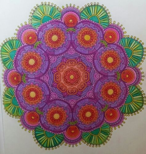 Coloringbook - Colorama Flowers, Paisleys, Stained Glass ...