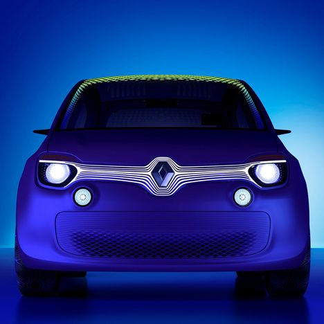 TwinZ concept car by Ross Lovegrove for Renault