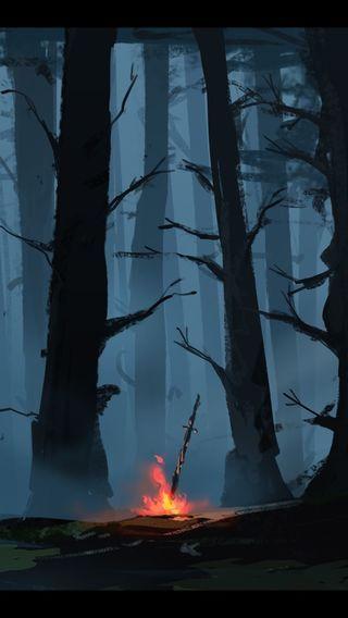Bonfire Dark Souls Wallpaper Dark Souls Dark Souls Art