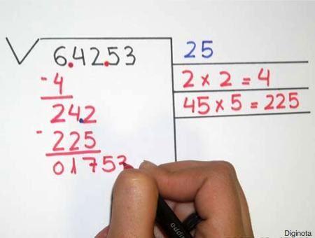 Cómo Hacer Raíces Cuadradas Para Los Chichos Y No Tan Chicos Tutorial Y Foto Guía Curiosidades Matematicas Material Didactico Para Matematicas Lecciones De Matemáticas