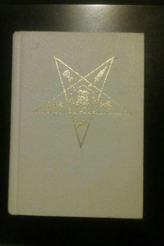Adoptive Rite Ritual Eastern Star 1952 Revision Eastern Star Etsy Stars