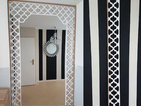 Diy Cadre Quadrilobe Quatrefoil Style Marocain