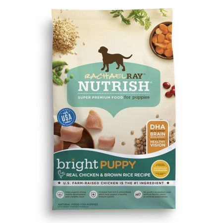 Rachael Ray Nutrish Bright Puppy Natural Dry Dog Food Real