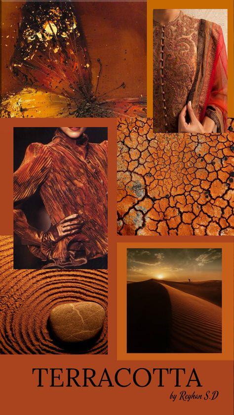 '' Terracotta Color '' by Reyhan Seran Dursun