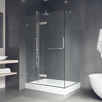 Vigo Monteray 48 W X 79 H Rectangle Hinged Shower Enclosure With
