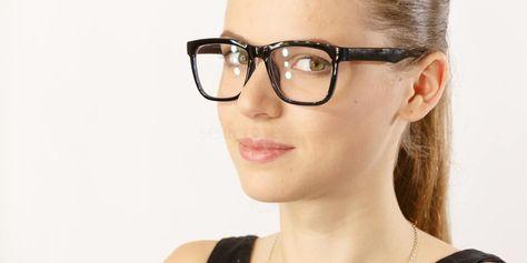 3115d8cc81 Savannah 2444 £10 Black and Blue Prescription Glasses - Free Lenses    Coatings at  SelectSpecs