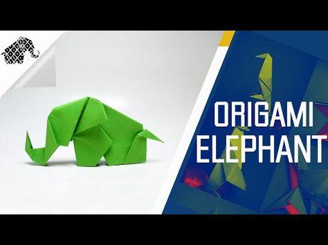 Origami Dollar Elephant 2 by: Ken Hmoob - YouTube   355x474