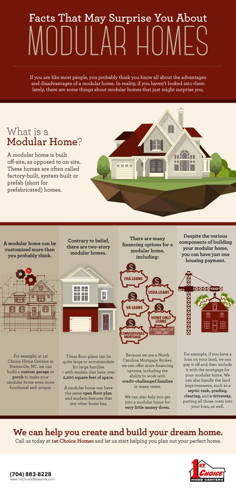 9 Reasons to Buy a Modular Home [infographic]  http://1stchoicehomecenters.wordjack.com/business/9-reasons-buy-modular-home-infographic  | Pinterest ...