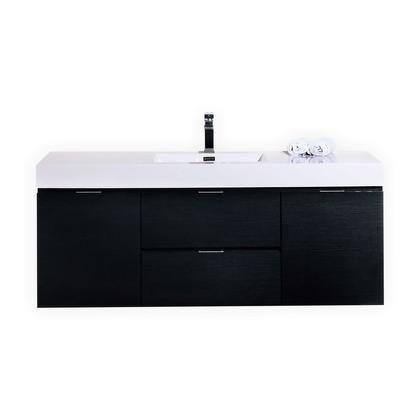 Kubebath Bsl60sbk 1 099 00 Single Bathroom Vanity Black Vanity