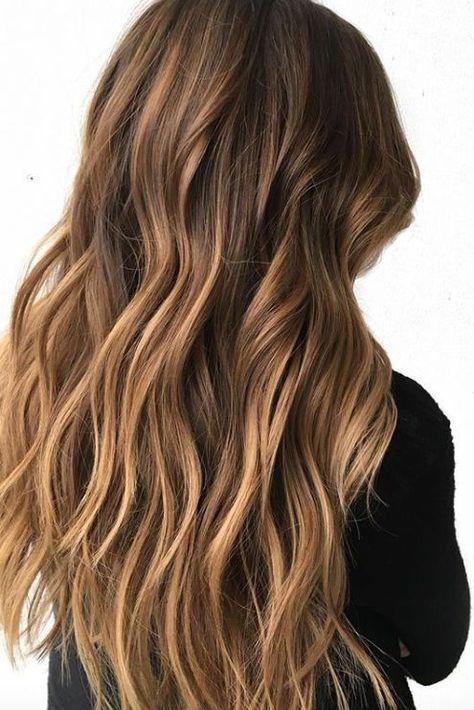 Die Schönsten Frisuren Für Brünettes Und Braunes Haar Mit Highlights