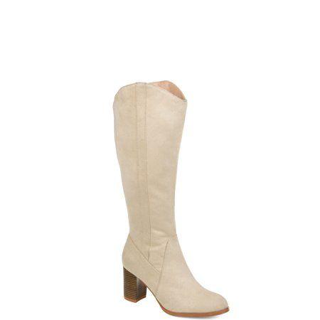 8e3a9fbf333a Brinley Co. Womens Comfort Extra Wide Calf Microsuede Mid-calf Boot ...