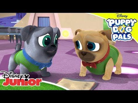 Bob S Missing Lunch Puppy Dog Pals Disney Channel Africa Youtube Disney Junior Disney Channel Disney Channel Stars