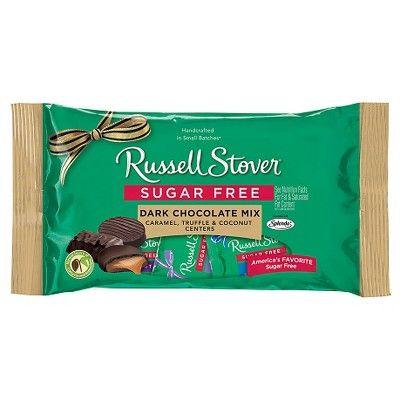 Russell Stover Sugar Free Dark Chocolate Assortment 10oz Target Sugar Free Dark Chocolate Sugar Free Candy Chocolate Assortment