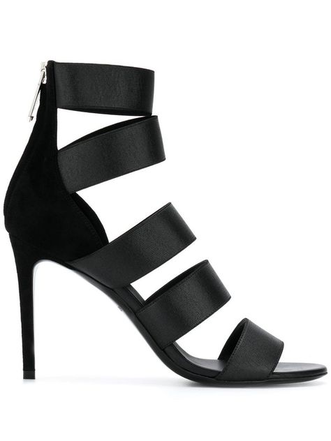 Balmain strappy high sandals Black | Products in 2019