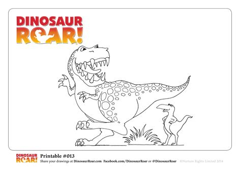 #DinosaurRoar coloring pages - Dinosaur Roar Cover - Dinosaur Roar and Dinosaur Squeak - #dinosaurs #colouringpages #coloringpages #coloringsheets #kids #dinosaurcoloringpages #dinos #kidscrafts #kidsdrawings #dinosaur #free #childrensbooks #preschool Send them to ▶ http://DinosaurRoar.com or ▶ http://Facebook.com/DinosaurRoar #ROAR  Click on the image to be taken to the full size image for you to download.