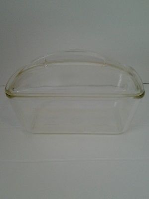 Details About Vintage Westinghouse Loaf Pan Baking Dish With Glass