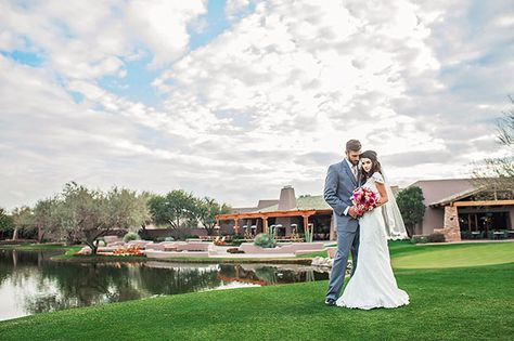 Grayhawk Golf Club In Scottsdale AZ Outdoor Wedding Venue Photo By StepOnMe PhotographyC