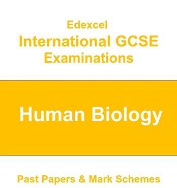 Edexcel IGCSE Human Biology Past Papers  | JCCROYDON | Past