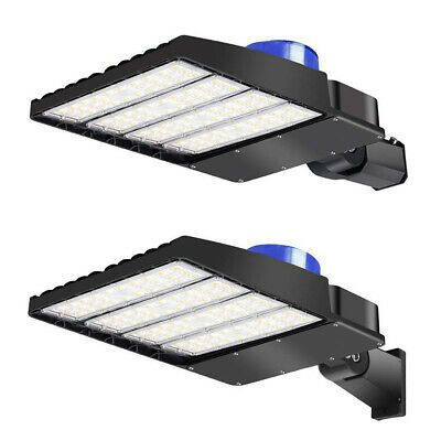 Sponsored Ebay Led Parking Lot Light 300w 200w 150w 100w Shoebox Street Pole Area Light Fixture In 2020 Led Parking Lot Lights Parking Lot Lighting Area Lighting