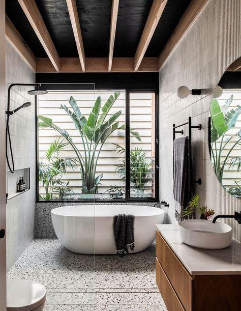 bathroom interior design exotic spa decor