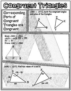 17++ Triangle congruence sss and sas worksheet answers Free Download