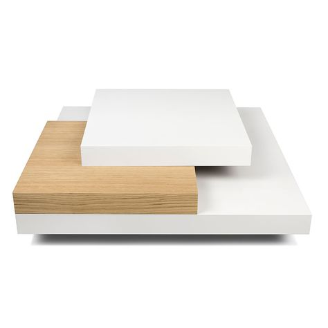 Slate Coffee Table White Oak Mindy In 2019 Slate