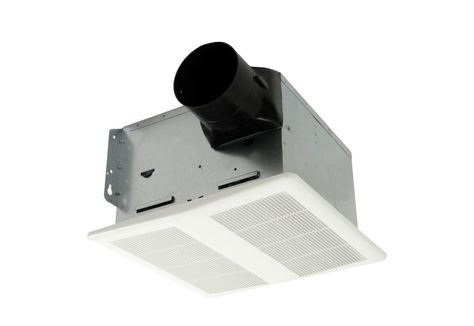 Hushtone Quiet Series 150 Cfm Bath Exhaust Fan With Humidity Sensor And Timer In 2020 Energy Star Humidity Sensor Home Depot