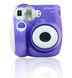 Amazon Com Polaroid Pic 300p Instant Film Analog Camera Purple
