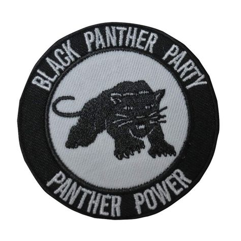 Black Panther Party Patch