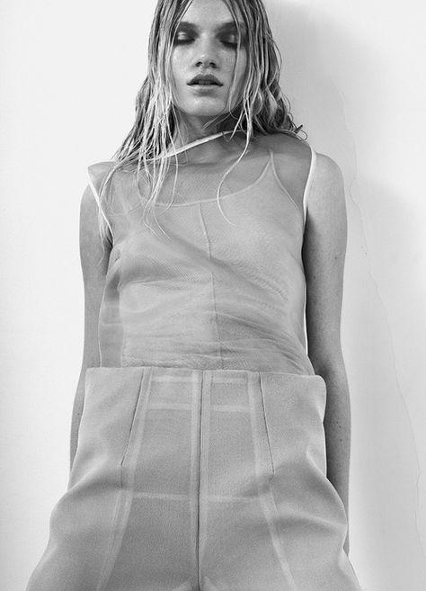 """maddynorris:  Eleonora Baumann in """"Louis & Eleonora"""" by Brett Lloyd forSSAW,Spring/Summer 2013"""
