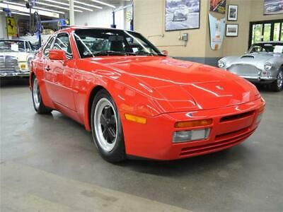 Ebay Advertisement 1986 Porsche 944 1986 Porsche 944 39053 Miles Guards Red 4 Cylinder Engine 2 5l 151 Manual In 2020 Porsche 944 Porsche Huntington Station
