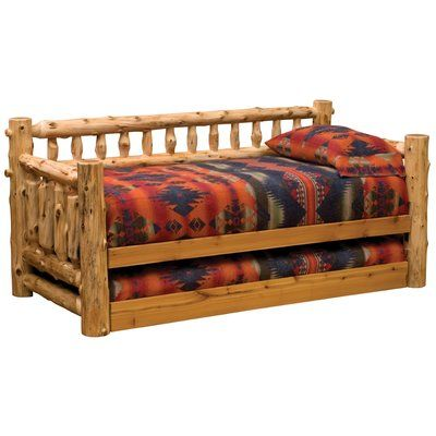 Loon Peak Lytle Twin Daybed With Trundle Accessories Trundle