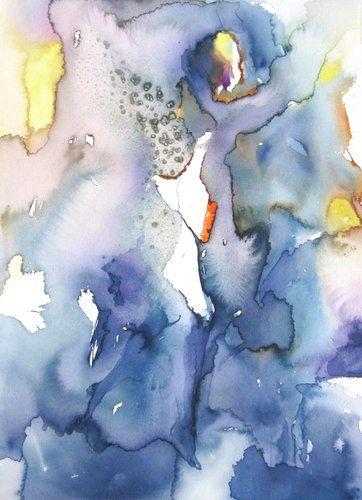 Un Ange Passe De Sylvia Baldeva 2017 Oeuvre Sur Papier