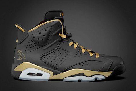 first rate 40940 bee14 OVO-Themed Air Jordan 6s